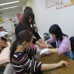 蝶式糸除毛講座スクール風景写真、受講生のお声 2018年12/2
